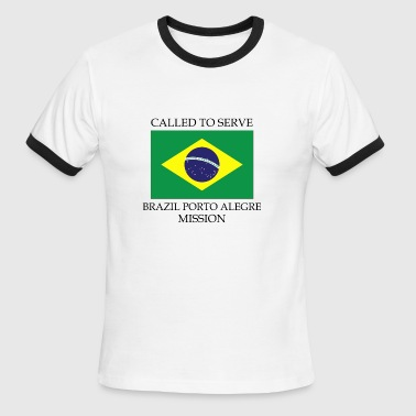 Brazil Porto Alegre Mission LDS Mission Called t - Men's Ringer T-Shirt