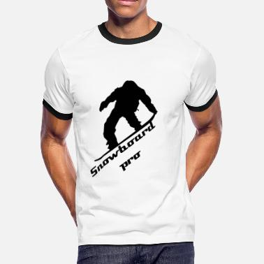 Thermos Snowboard pro thermo mug - Men's Ringer T-Shirt