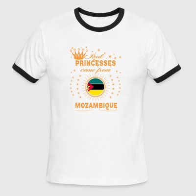 love princesses come from MOZAMBIQUE - Men's Ringer T-Shirt