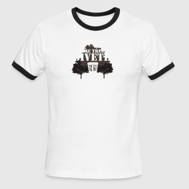 The Tree Giveth The Tree Taketh Away - Men's Ringer T-Shirt