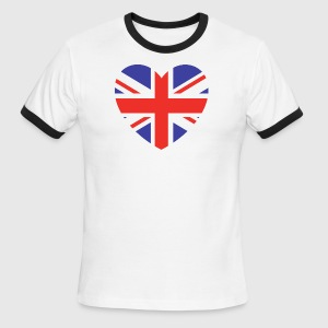 Lovely Britain - Men's Ringer T-Shirt