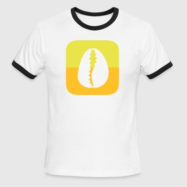O-icon design for Oshun in two colors on white - Men's Ringer T-Shirt