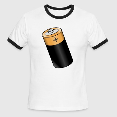 Battery Rechargable Storage Portable Accumulator - Men's Ringer T-Shirt