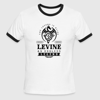 LEVINE - Men's Ringer T-Shirt
