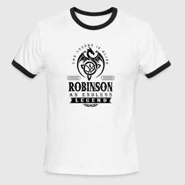 ROBINSON - Men's Ringer T-Shirt