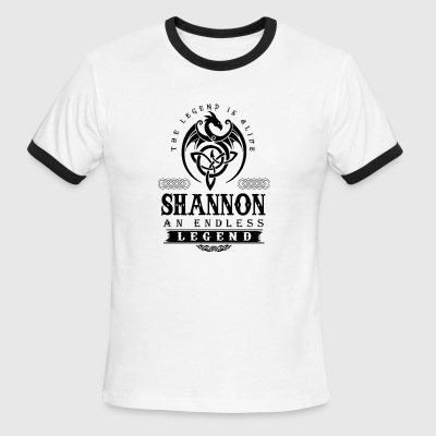 SHANNON - Men's Ringer T-Shirt