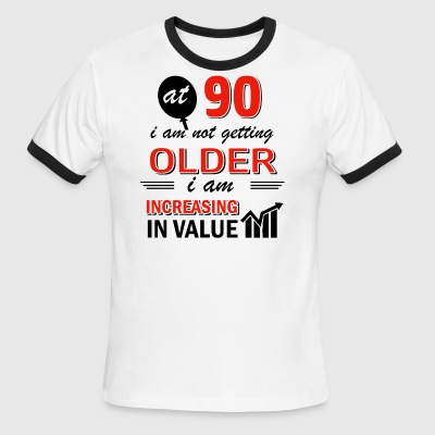 Funny 90 year old gifts - Men's Ringer T-Shirt
