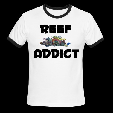 Reef Addict - Men's Ringer T-Shirt