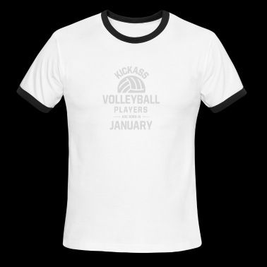 Volleyball Players - Men's Ringer T-Shirt