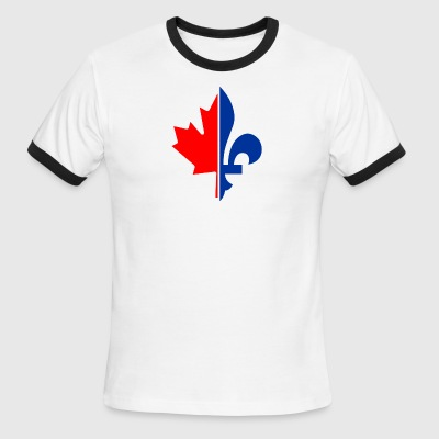 French Canadian - Men's Ringer T-Shirt