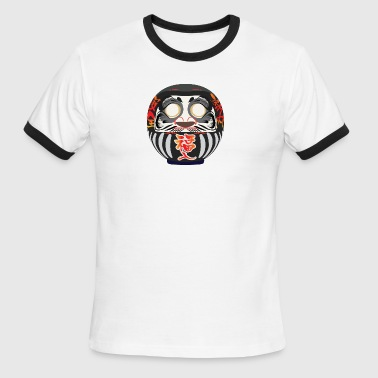 Daruma, a symbol of perseverance and good luck - Men's Ringer T-Shirt