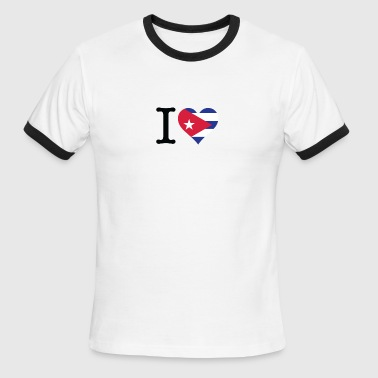 I Love Cuba - Men's Ringer T-Shirt