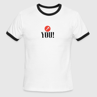 Screw you - Men's Ringer T-Shirt