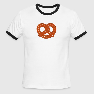 Pretzel Brown - Men's Ringer T-Shirt