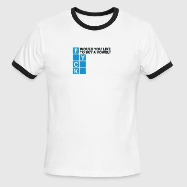 Would You Like To Buy A Vowel? - Men's Ringer T-Shirt