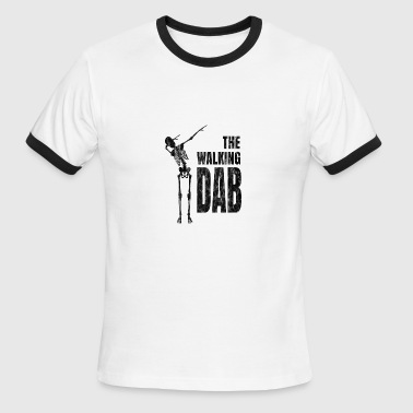 The Walking Dab Dabb Dabbing - Gift - Men's Ringer T-Shirt
