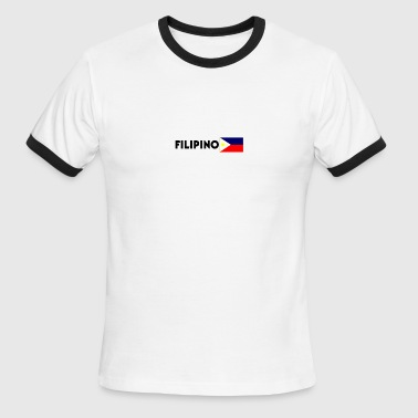 Filipino - Men's Ringer T-Shirt