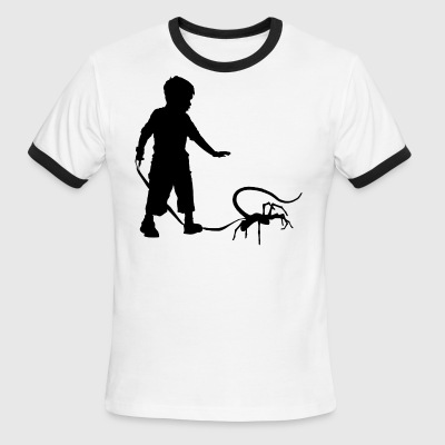 My Pet Facehugger - Men's Ringer T-Shirt