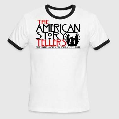 American Storytellers Horror - Men's Ringer T-Shirt