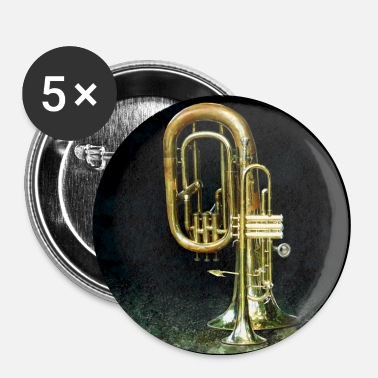 Trumpet and Tuba - Large Buttons