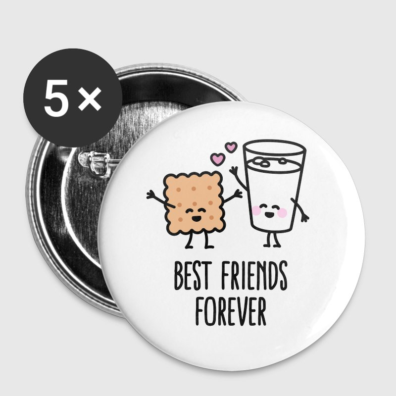 Best friends forever - Large Buttons