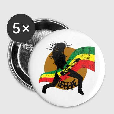Reggae - Large Buttons