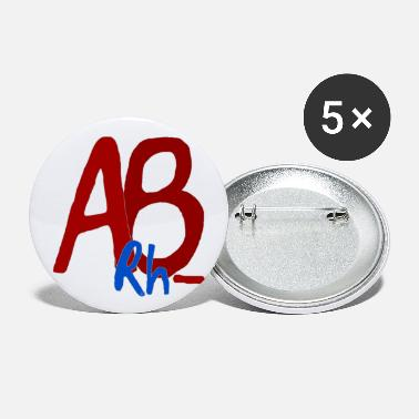 Ab AB Rh - - Large Buttons