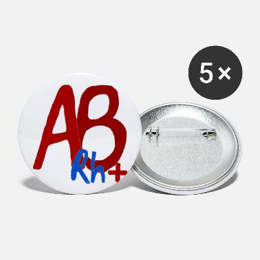 Ab AB Rh + - Large Buttons