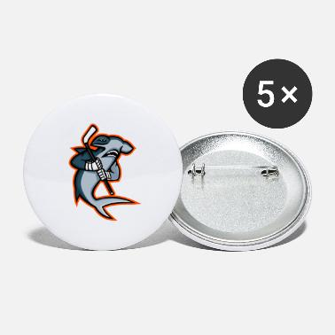 Pla Hammerhead Ice Hockey Pla - Large Buttons