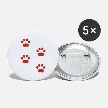 Shop Pawprint Buttons online | Spreadshirt
