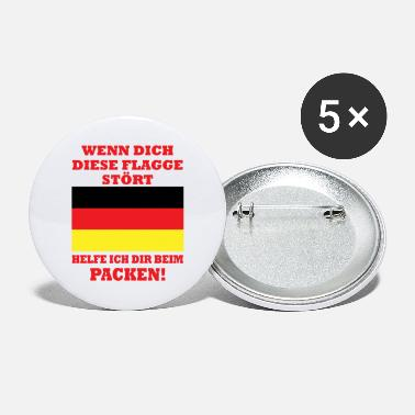 Gold If this flag bothers you, help Germany - Large Buttons