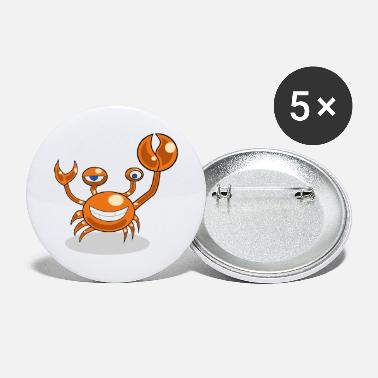 Crab crab - Large Buttons