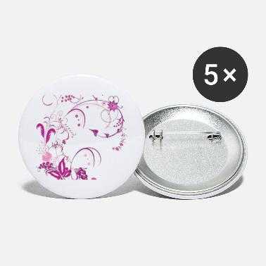 Vector Graphic free floral vector graphic 147482 - Large Buttons