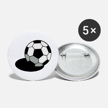 Regulation Football SOCCER FOOTBALL BALL WITH A SHADOW - Large Buttons