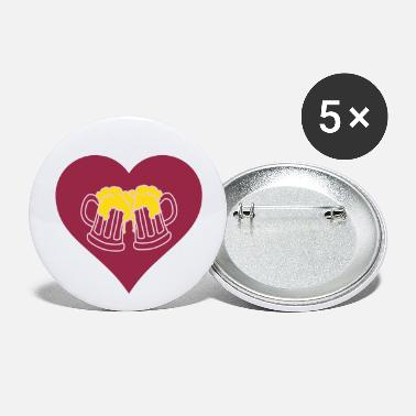 Lover Beer Lover - Large Buttons