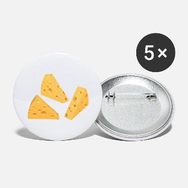 Cheese cheese wedges - Large Buttons
