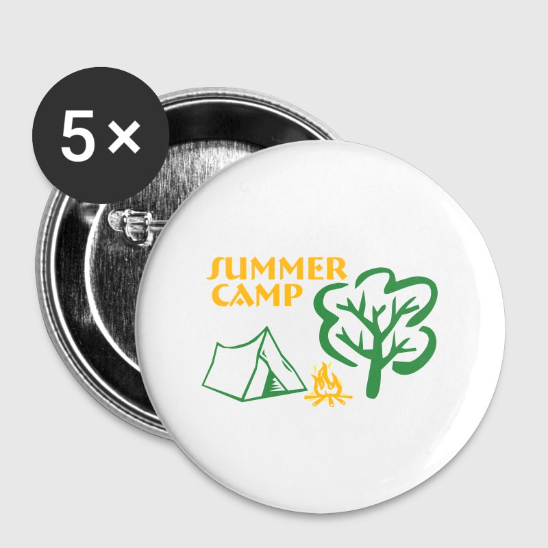 Summer camp - Large Buttons