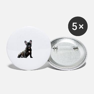 Bulldog Puppy French Bulldog Puppy - Large Buttons