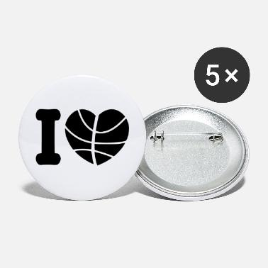 Basketball Lover basketball lover - Large Buttons