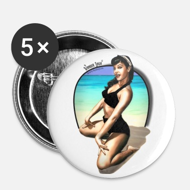 Patricia pin up - Buttons large 2.2'' (5-pack)