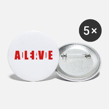 Alive Schrodinger's Cat, Dead or Alive - Large Buttons