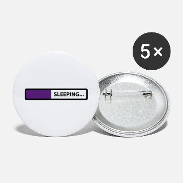 Sleeping sleeping - Large Buttons