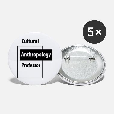 Education Culture Cultural Anthropology Professor - Education Job - Large Buttons