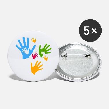 Care Care child care community - Large Buttons
