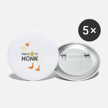 Goose goose honk merch - Large Buttons