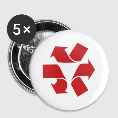Unrecycle Symbol - Large Buttons