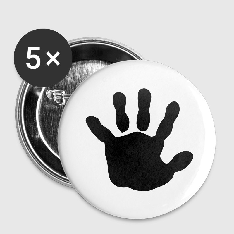 baby - hand - handprint - Large Buttons