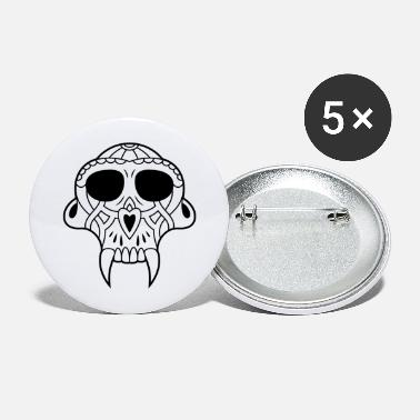 Witch skull fangs - Large Buttons