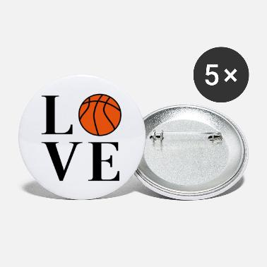 Basketball Love - Large Buttons