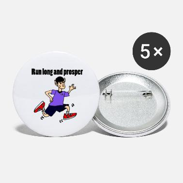 Funny Running Funny Running Vulcan - Large Buttons